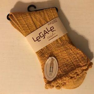 Legale Wool Blend Crew Socks